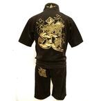和柄,セットアップ,上下組,錦-nishiki-,龍,半袖,梵字,ジャージ,刺繍,パイソン,蛇柄,悪羅悪羅系